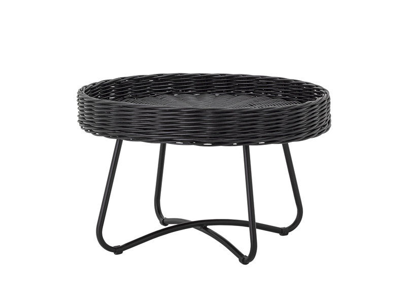 Bloomingville Hattie koffietafel rotan - zwart