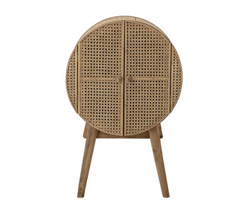 Bloomingville Otto cupboard rattan - natural