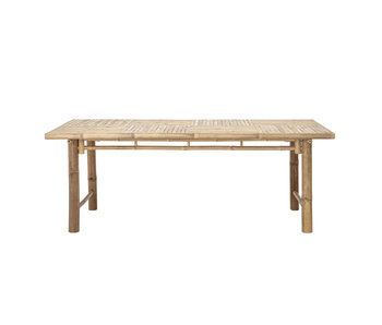 Bloomingville Table Sole naturel - bambou