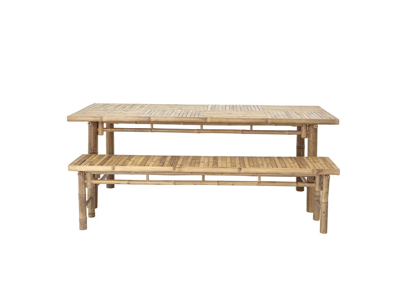 Bloomingville Sole tafel naturel - bamboe