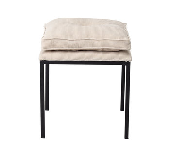 Bloomingville Tammy stool natural - metal
