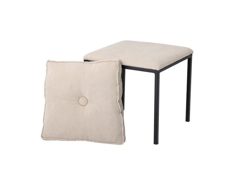 Bloomingville Tammy stool natural - metal