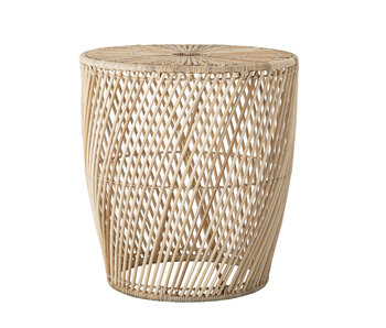 Bloomingville Table d'appoint Abeline naturel - rotin