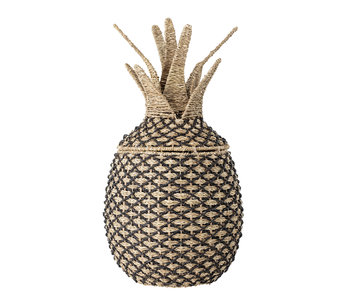 Bloomingville Mini Pineapple basket with lid