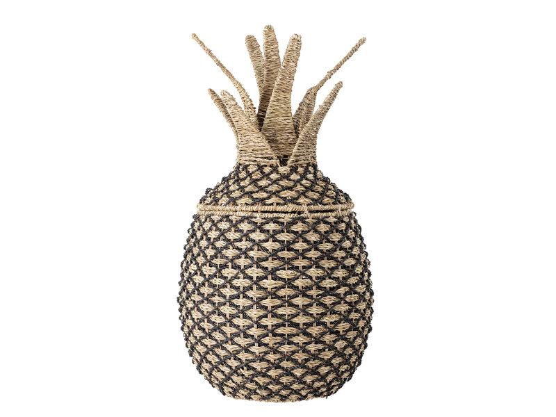 Bloomingville Mini Pineapple basket with lid