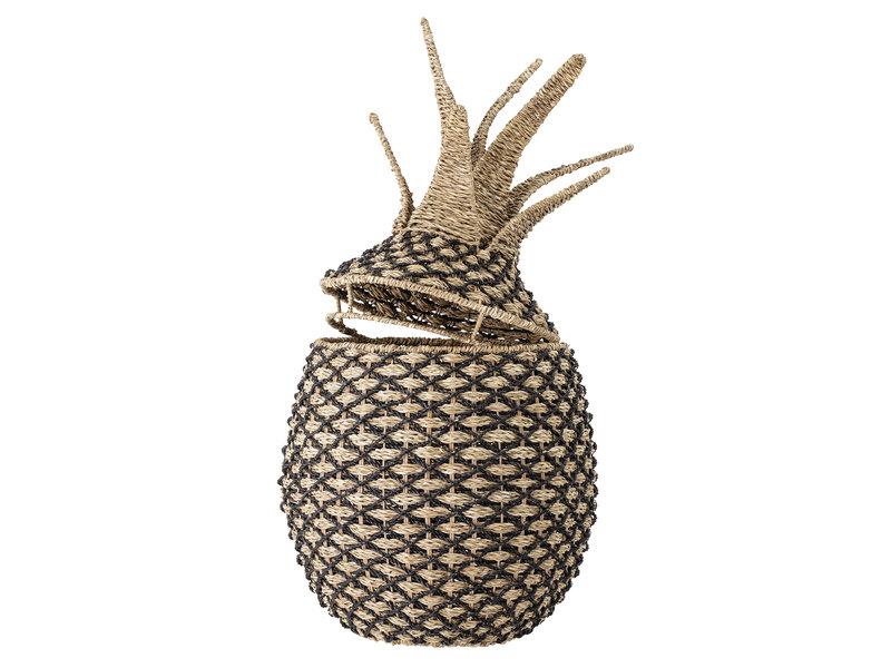 Bloomingville Mini Ananas mand met deksel