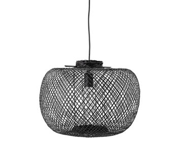 Bloomingville Bamboo hanging lamp - black