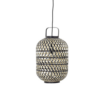 Bloomingville Lámpara colgante de bambú