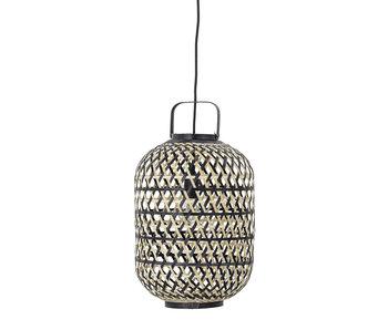 Bloomingville Lampe suspendue en bambou