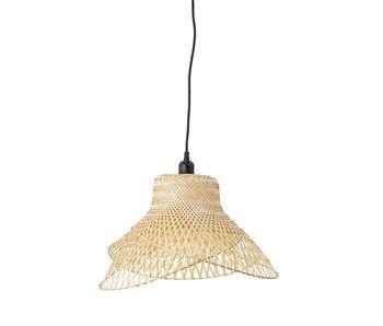 Bloomingville Bambus hængende lampe - naturlig