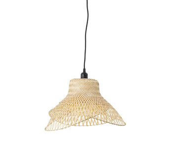 Bloomingville Hanglamp bamboe - naturel