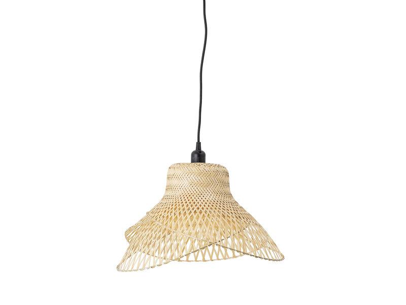 Bloomingville Bambus hengende lampe - naturlig