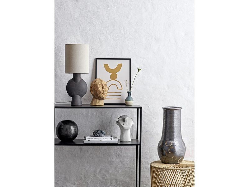 Bloomingville Tafellamp terracotta - bruin