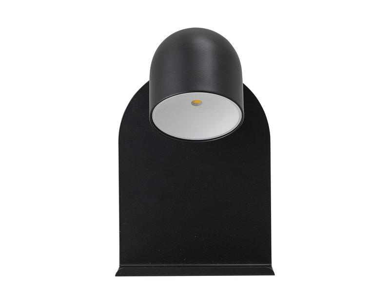 Bloomingville Wall lamp LED metal - black