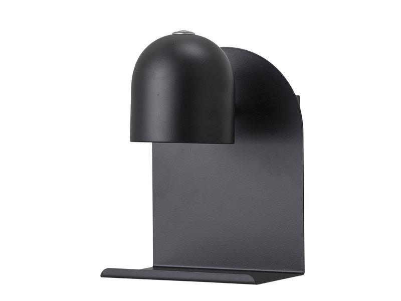 Bloomingville Vegglampe LED-metall - svart