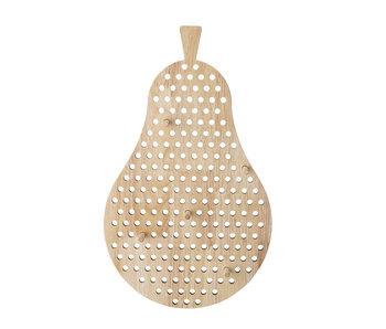 Bloomingville Mini Väggdekor päron - trä