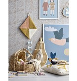 Bloomingville Mini Wall decor pear - wood