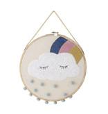 Bloomingville Mini Wanddecor hanger - wolk