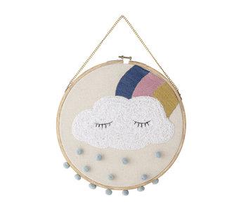 Bloomingville Mini Percha de decoración de pared - nube