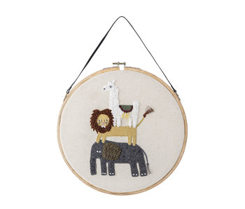 Bloomingville Mini Wall decor pendant - animals