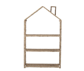 Bloomingville Mini Bookcase - seagrass