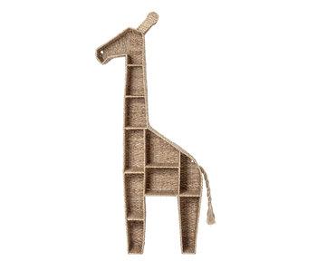Bloomingville Mini Bogskabs giraf - havgræs