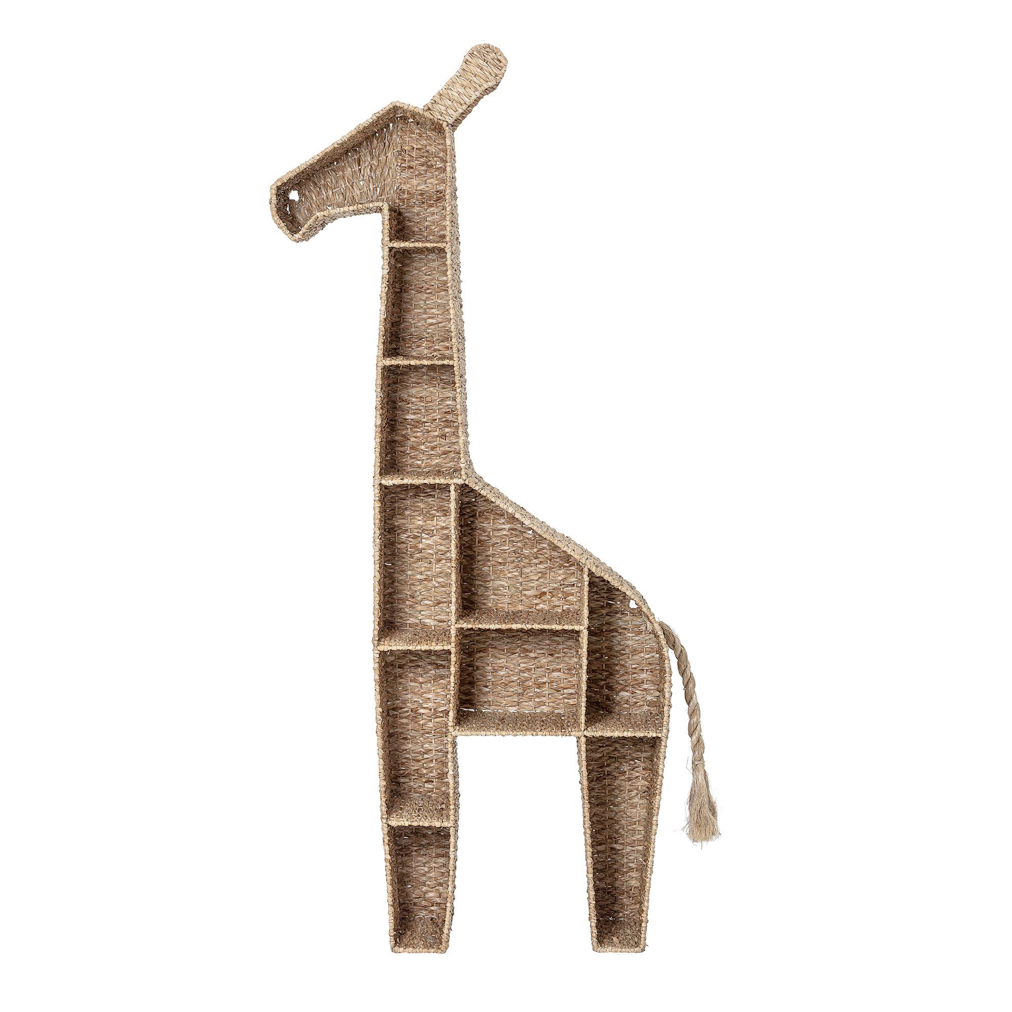 Bloomingville Mini Bookcase Giraffe Seagrass Living And Co
