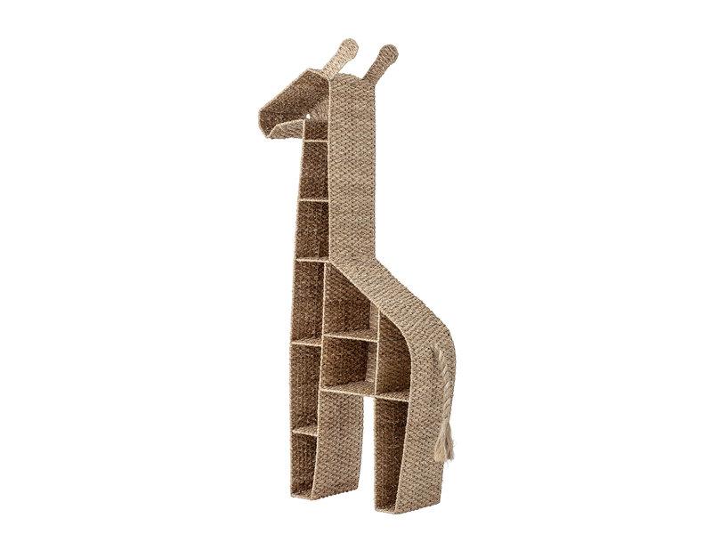 Bloomingville Mini Bokhylla giraff - sjögräs