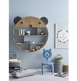 Bloomingville Mini Bookcase bear - seagrass