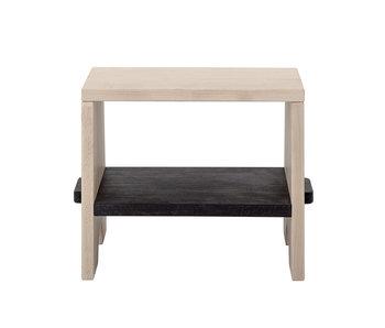 Bloomingville Mini Tabouret en bois de hêtre - naturel / noir
