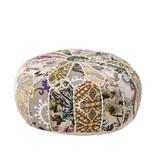 Bloomingville Mini Cotton pouffe - multi color