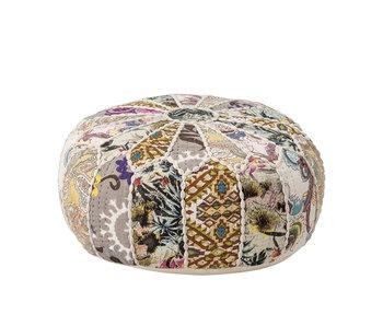 Bloomingville Mini Puf de algodón - multicolor