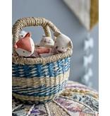Bloomingville Mini Poef katoen - multi kleur