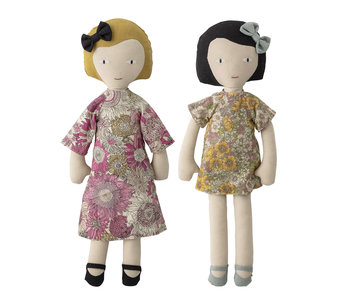 Bloomingville Mini Cuddle dolls cotton - set of 2 pieces
