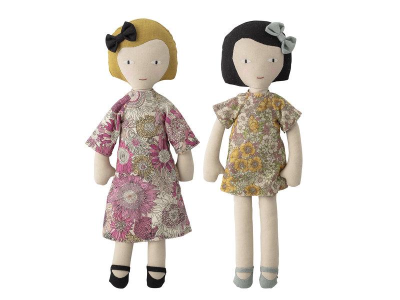 Bloomingville Mini Kuschelpuppen Baumwolle - 2er Set