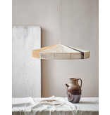 HK-Living Touw hanglamp - zwarte strook