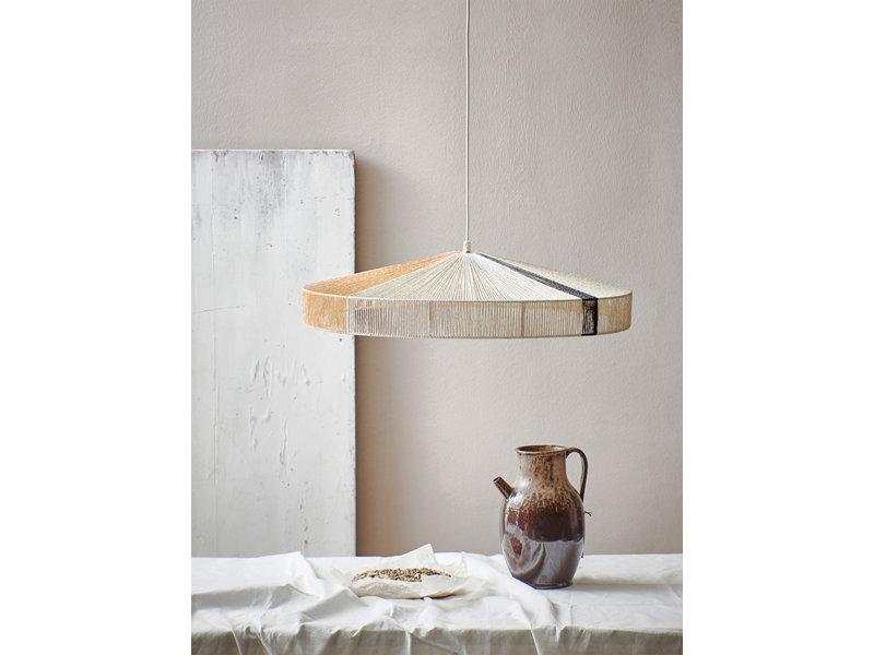 HKliving Rope hængende lampe sort strimmel LIVING AND CO.