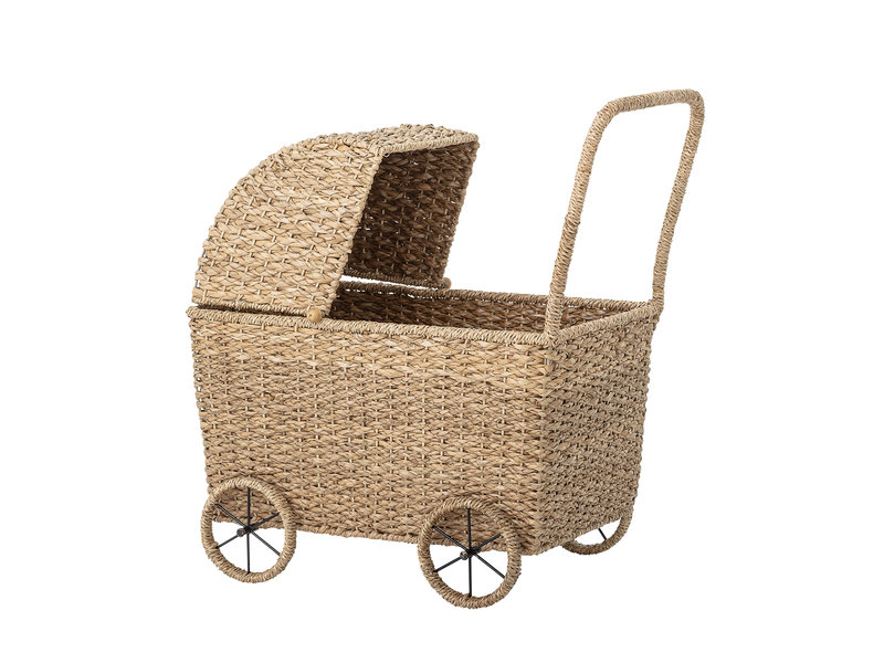 Bloomingville Mini Poppenwagen - naturel