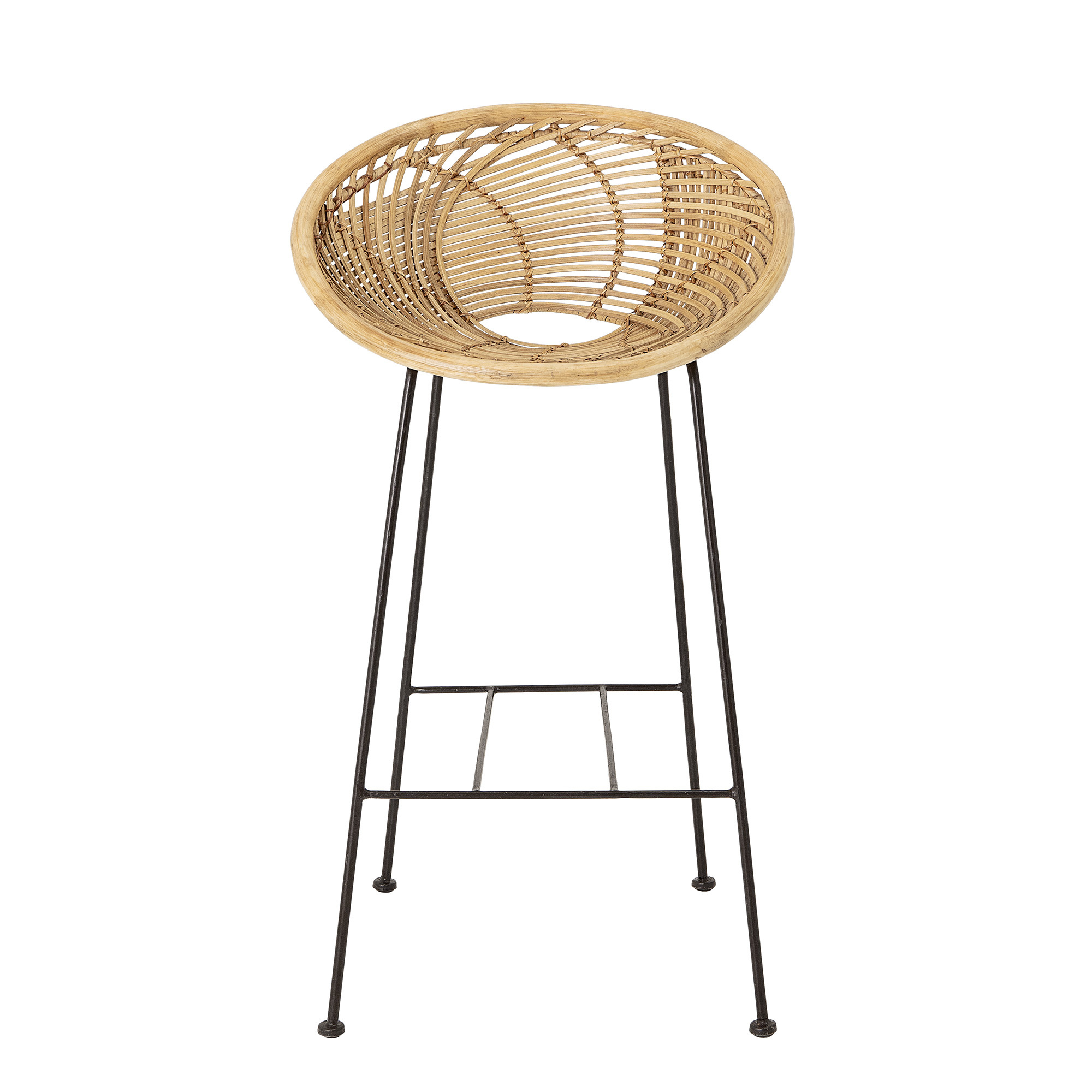 Bloomingville Yonne Barhocker Rattan Naturlich Living And Co