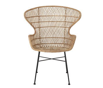 Bloomingville Oudon lounge chair rattan - natural
