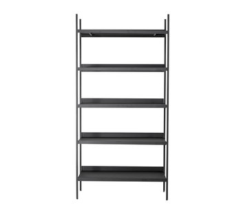 Bloomingville Lot cabinet with shelves metal - black