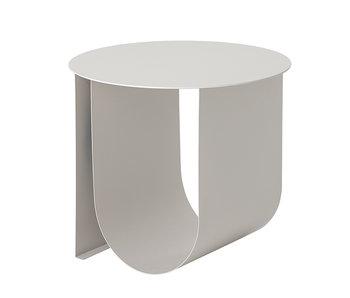 Bloomingville Table d'appoint Cher métal - gris
