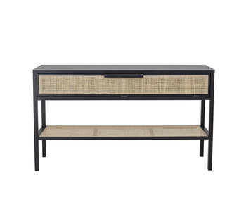 Bloomingville Alona console table - black