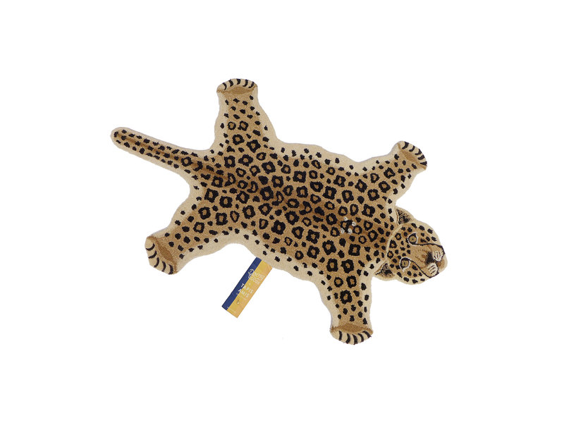 Doing Goods Loony leopard vloerkleed - large