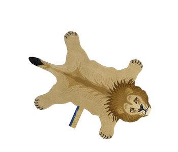 Doing Goods Stimmungsvoller Löwenteppich - groß