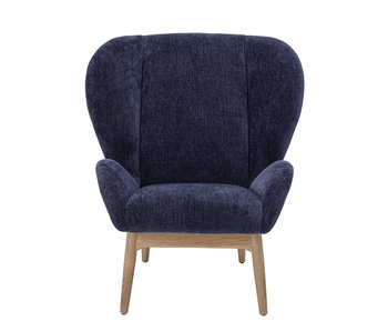 Bloomingville Eave lounge chair - blue