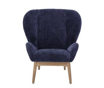 Bloomingville Eave loungestoel - blauw