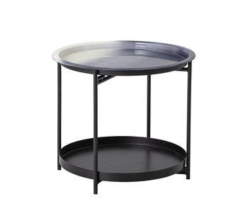 Bloomingville Tavolino Adelina in metallo - grigio