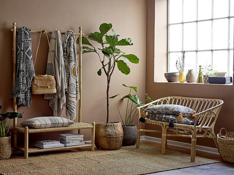 Bloomingville Abel garderobskåp - naturligt