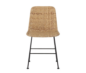 Bloomingville Kitty dining chair rattan - natural